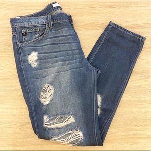 KanCan Boyfriend Jeans Distressed 29